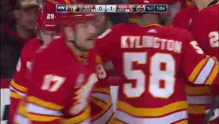 Calgary Flames vs. Ottawa Senators - Game Highlights