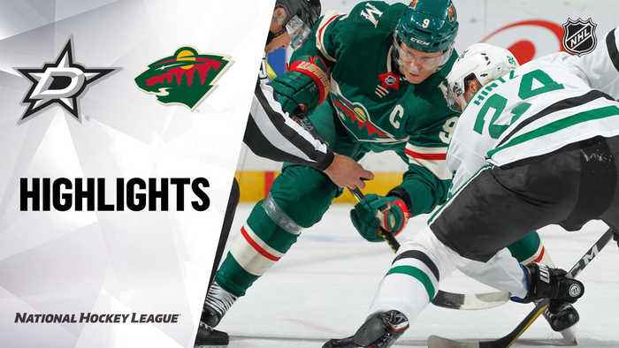 NHL Highlights | Stars @ Wild 12/01/19