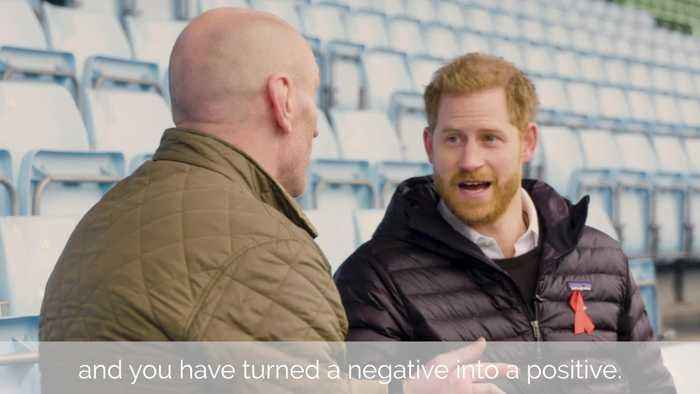 Gareth Thomas opens up to Prince Harry about breaking HIV stigma
