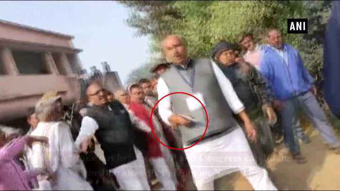 Clash breaks out between Congress, BJP candidates in Jharkhand Palamu