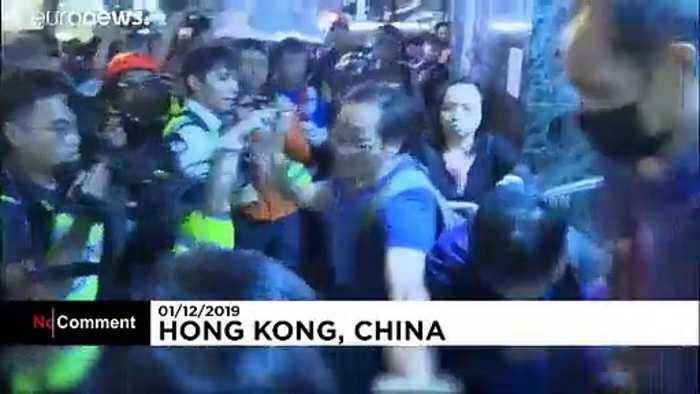 Hong Kong marchers keep pressure on Lam after local vote