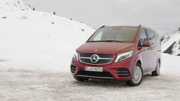 The new Mercedes-Benz V-Class Design Preview