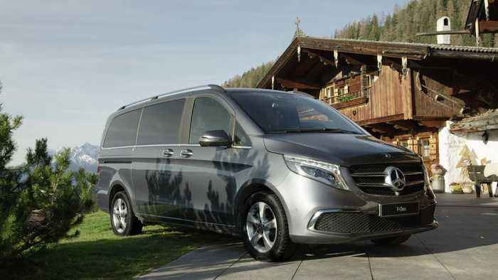 The new Mercedes-Benz V-Class MBUX