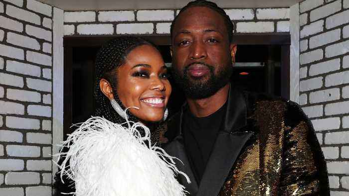 Gabrielle Union & Dwyane Wade: Son's Fake Nails In Thanksgiving Photo