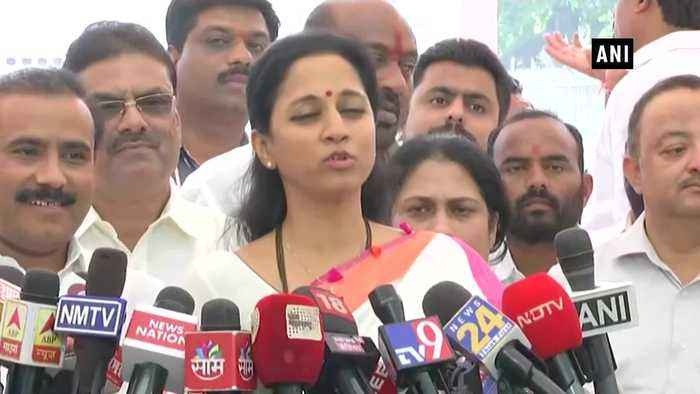 Supriya Sule requests CM Thackeray to form separate ministry for specially abled in Maharashtra