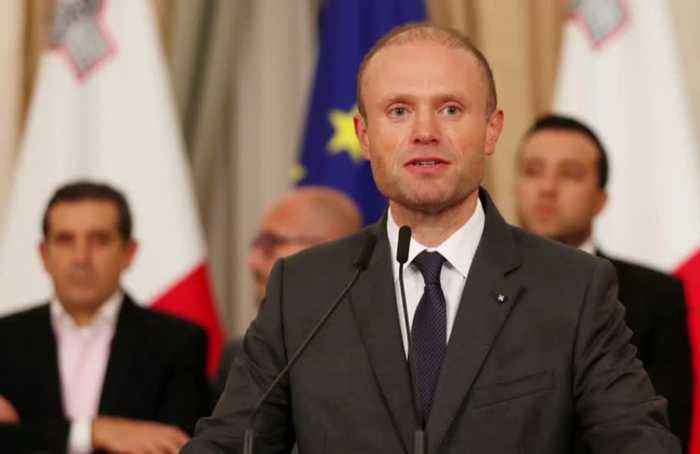 Malta's prime minister says he will resign