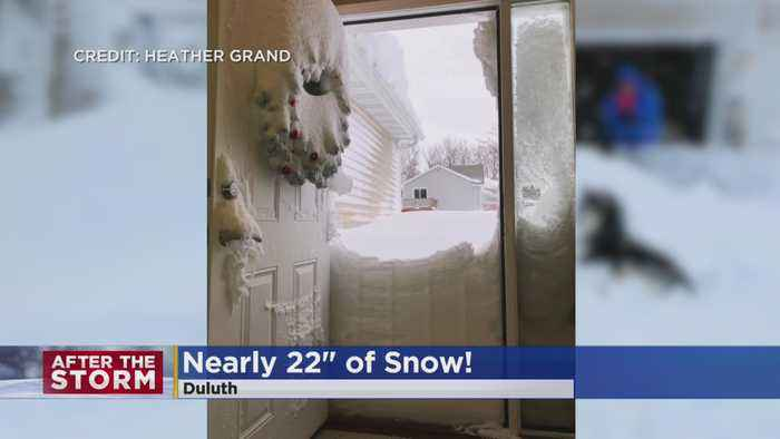 Duluth Digs Out After Nearly 2 Feet Of Snow