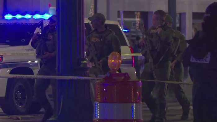 New Orleans: Double shooting leaves 10 injured and two dead