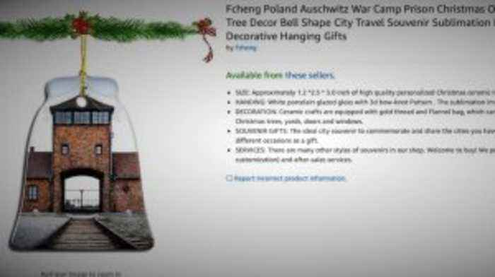 Amazon Pulls Auschwitz-Themed Holiday Decor
