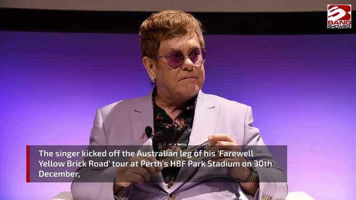 Elton John slams security guard