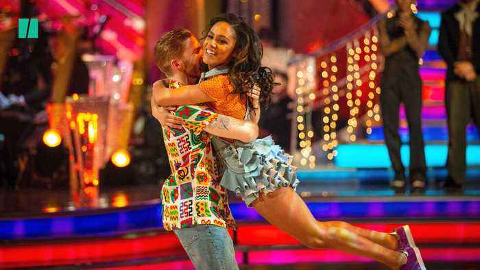 Alex Scott And Neil Jones Have Final Curtain Call After Strictly's Musicals Week | Jive Talking
