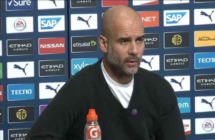 Rodgers has made Leicester title rivals, says Guardiola