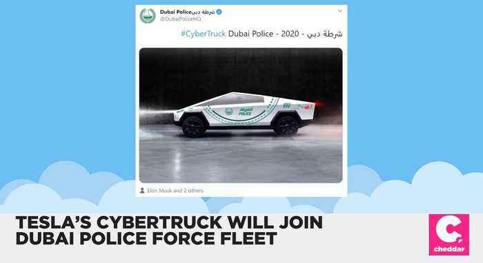 Tesla's Cybertruck Will Join Dubai's Police Fleet