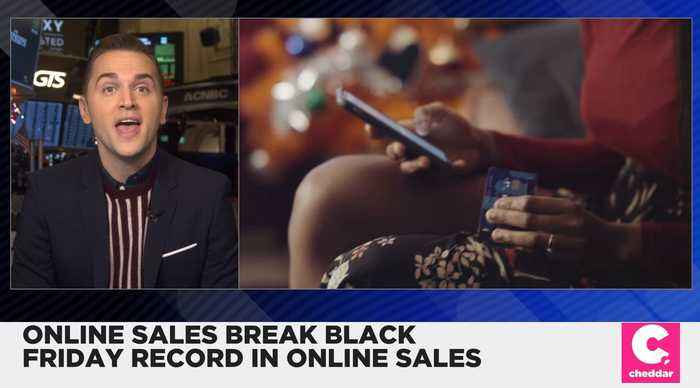 Black Friday Hits a Record of $7.4 Billion in Online Sales