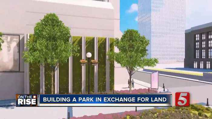 Developer will build downtown park in exchange for land from Metro
