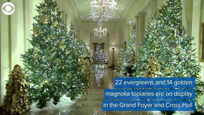WEB EXTRA: White House Christmas Decorations