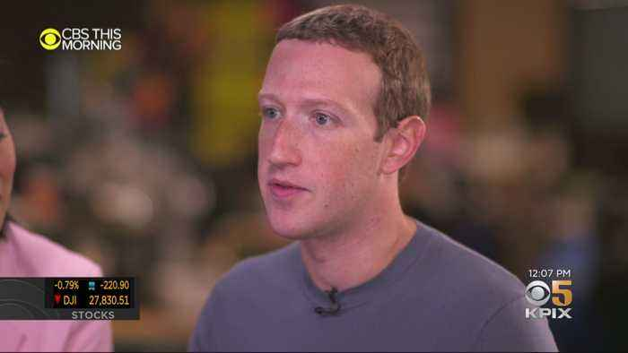 FACEBOOK POLITICAL ADS: Facebook CEO Mark Zuckerberg talks about his company's decision on political ads