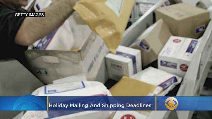 2019 Holiday Mailing And Shipping Deadlines
