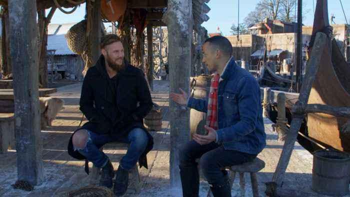 'Vikings' Cast Share Prank Tips