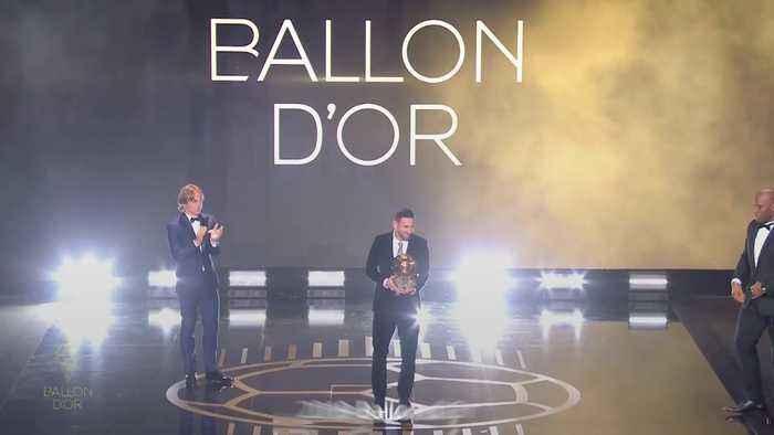 Lionel Messi and Megan Rapinoe win top Ballon d'Or awards