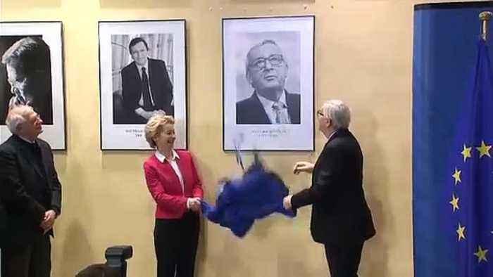 The big unveil: Jean-Claude Juncker to Ursula von der Leyen