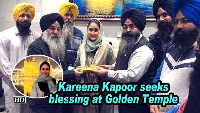 Kareena Kapoor seeks blessing at Golden Temple