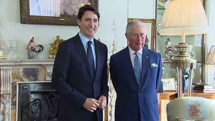 Prince Charles meets with Nato leaders