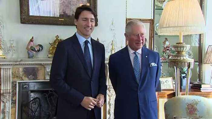 Prince Charles meets world leaders at Clarence House