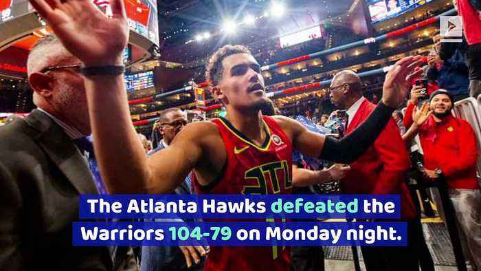 Warriors Have NBA's Worst Record After Loss to Hawks