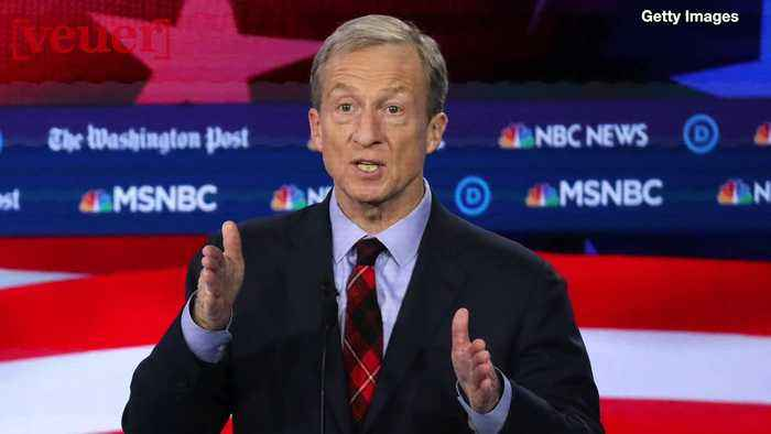 Tom Steyer's Campaign Buys 'Keep America Great' To Spite President Trump