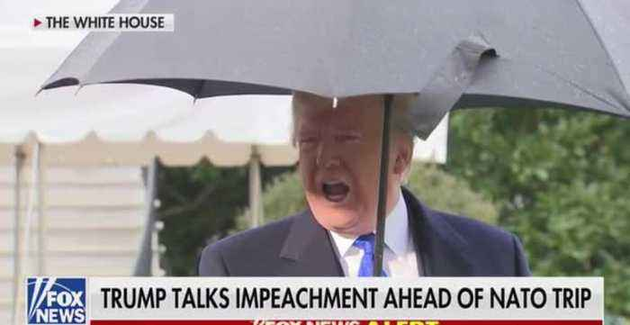 Trump: The Whole Impeachment Thing Is A Hoax