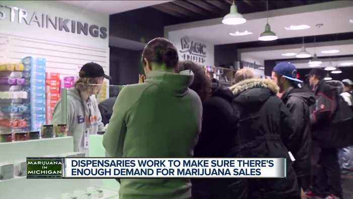 'We need it. We want it. It's good for people': Recreational sale of marijuana off to great start for Exclusive Brands in Ann