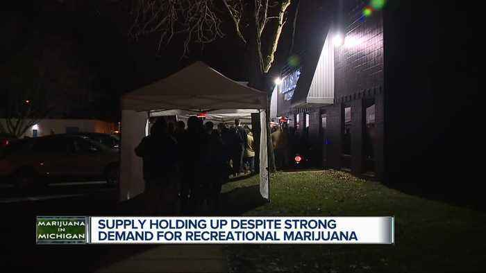 'We need it. We want it. It's good for people': Recreational sale of marijuana off to great start for Exclusive Bran