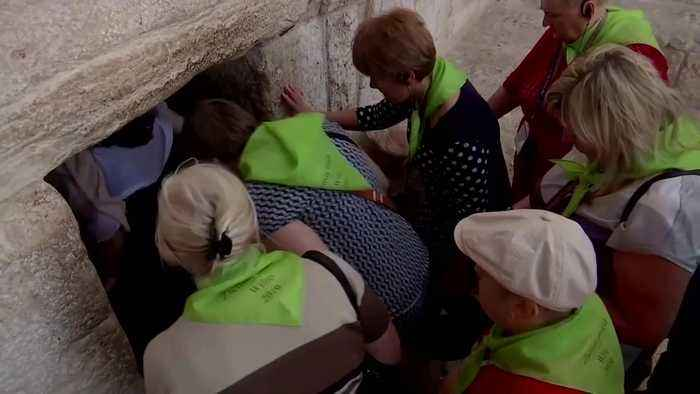 No room at the inn: Christmas tourists flock to Bethlehem
