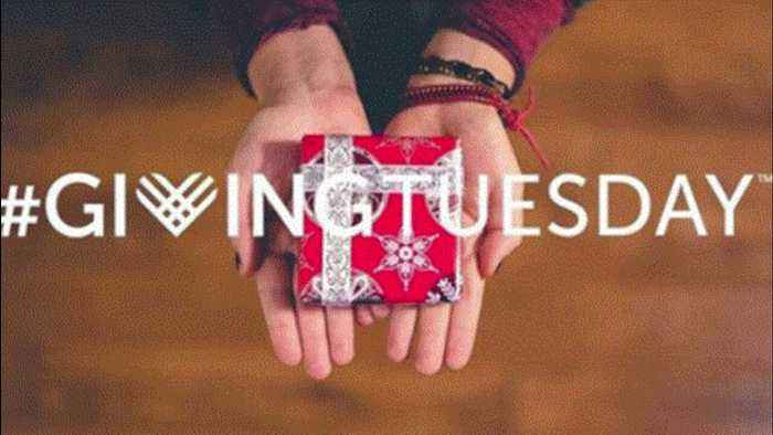 Giving Tuesday is an opportunity to volunteer, donate to charities