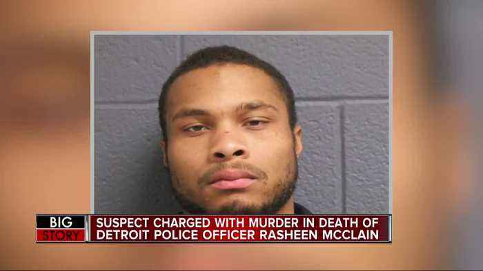 Suspect charged with murder in death of DPD officer Rasheen McClain