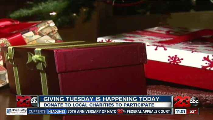Giving Tuesday is happening today
