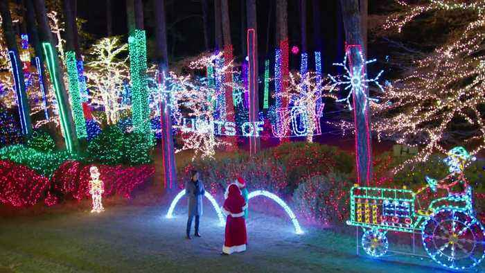 Taylor Family Covers 3 Acres In 'Lights of Joy'