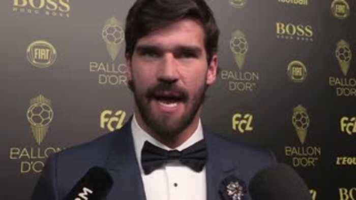 Alisson: Great achievement for a keeper