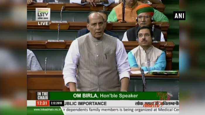 Act has brought shame to entire country' Rajnath Singh on Hyderabad rape murder case