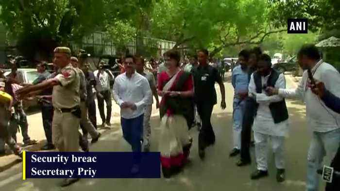 G Kishan Reddy to discuss matters of security breach at Priyanka Gandhi residence with officers
