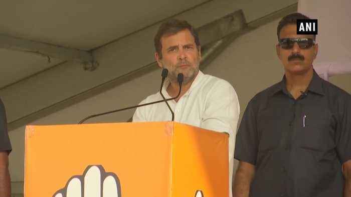 Rahul Gandhi promises to waive off farm loans employment