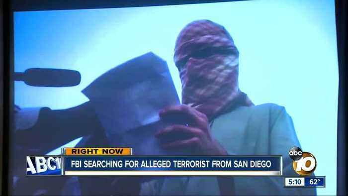 Indictment for San Diego terrorism suspect