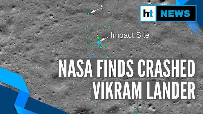 Watch: NASA releases images of impact site of Chandrayaan-2's Vikram lander