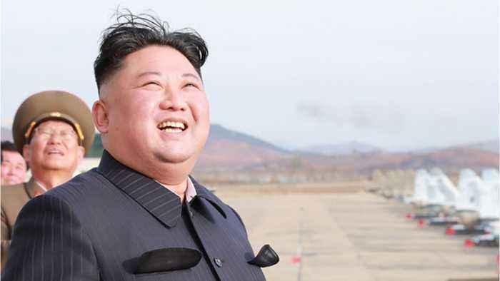 North Korea's Kim Jon Un Finishes Signature Construction Project
