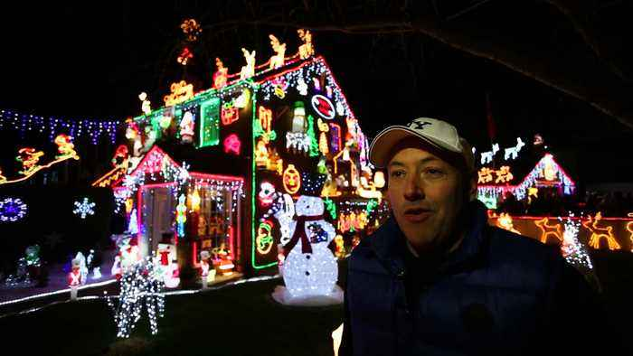 Bristol's most spectacular Christmas lights have made a dazzling return