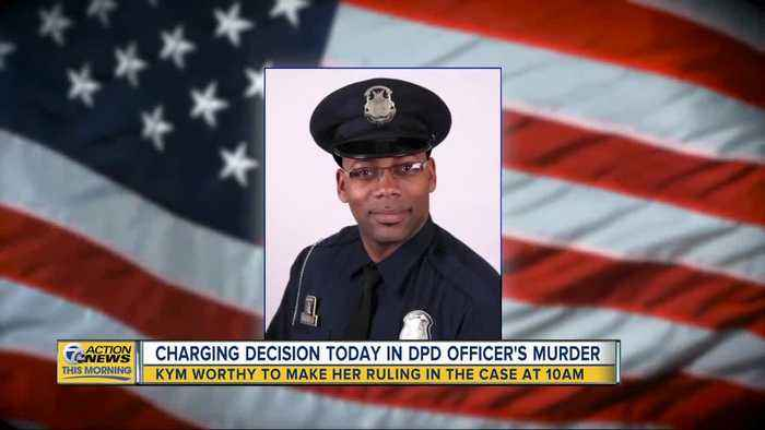 Charging decision expected in Detroit police officer's murder