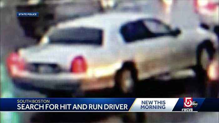 Woman struck by hit-and-run driver in South Boston