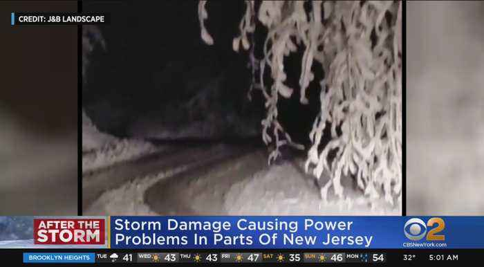 Thousands Without Power After Season's 1st Snowfall