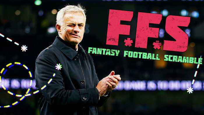 Fantasy Football Scramble- WARNING EMOJI Mourinho Madness Inbound